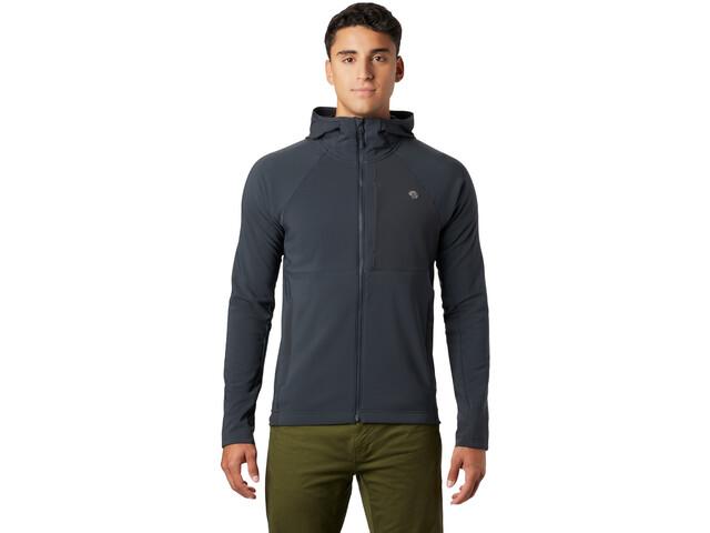Mountain Hardwear Keele Sudadera Capucha Hombre, gris